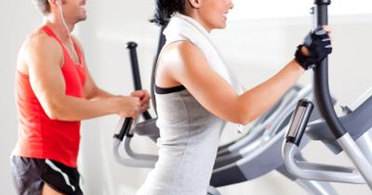 Lose weight elliptical workout