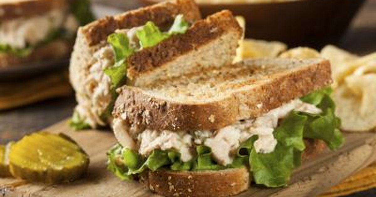 Is a tuna sandwich healthy livestrong com for Is tuna fish healthy