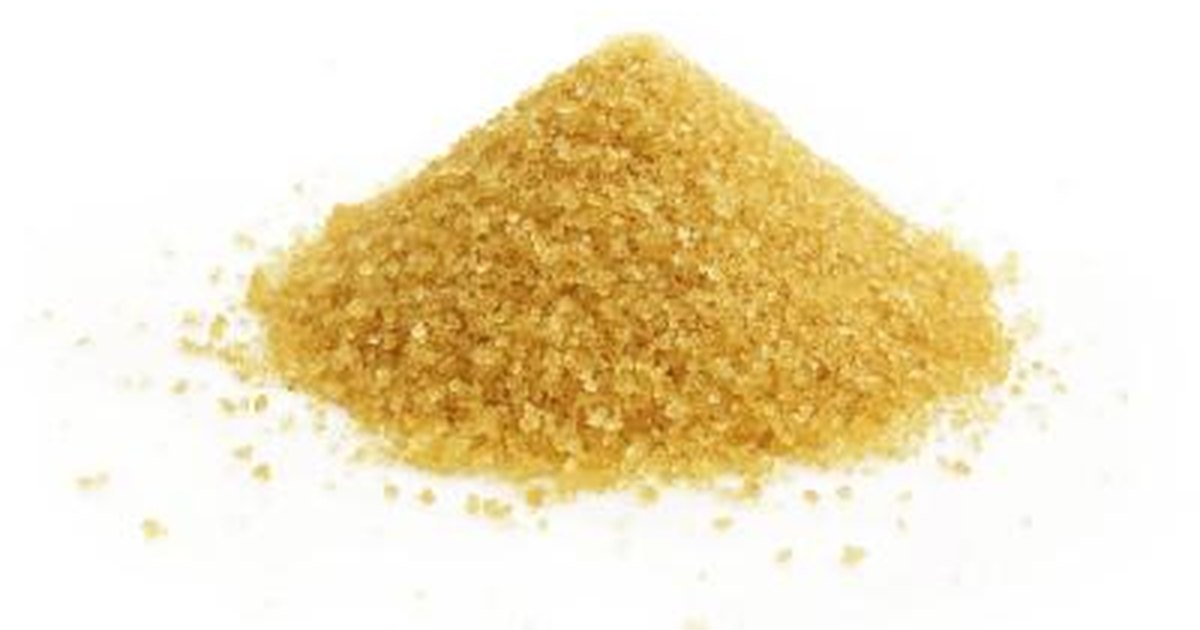 Turbonado sugar