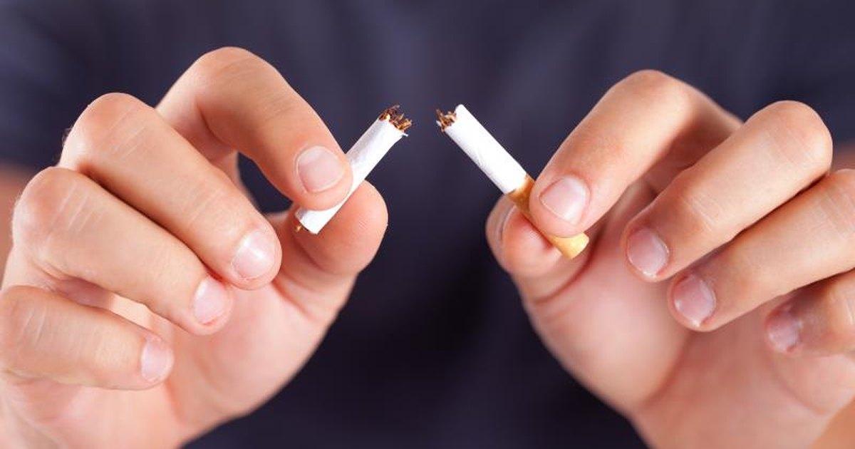 Was sich, wenn ändert Rauchen aufzugeben