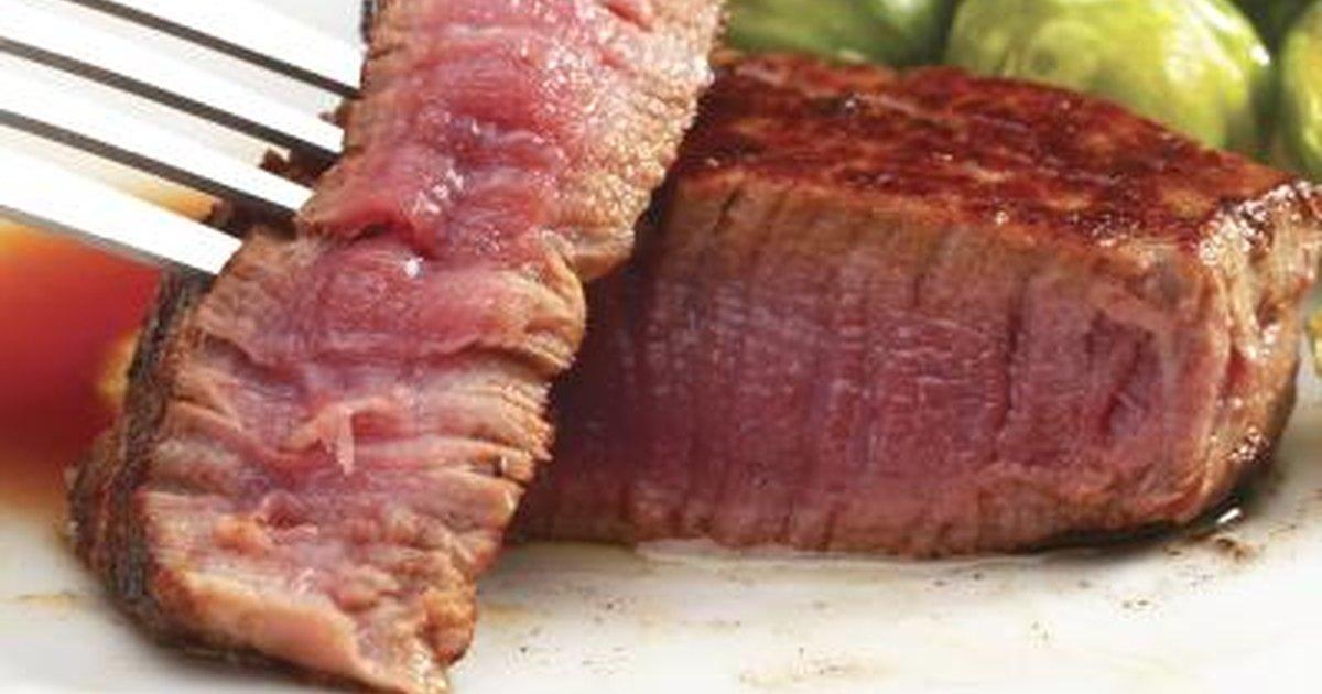 Nutrition facts for 8 ounces of filet mignon livestrong com - Solomillo de buey ...