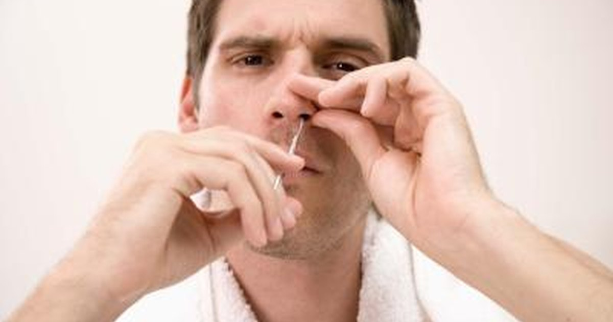 How To Pop A Zit Inside Your Nose Livestrong Com