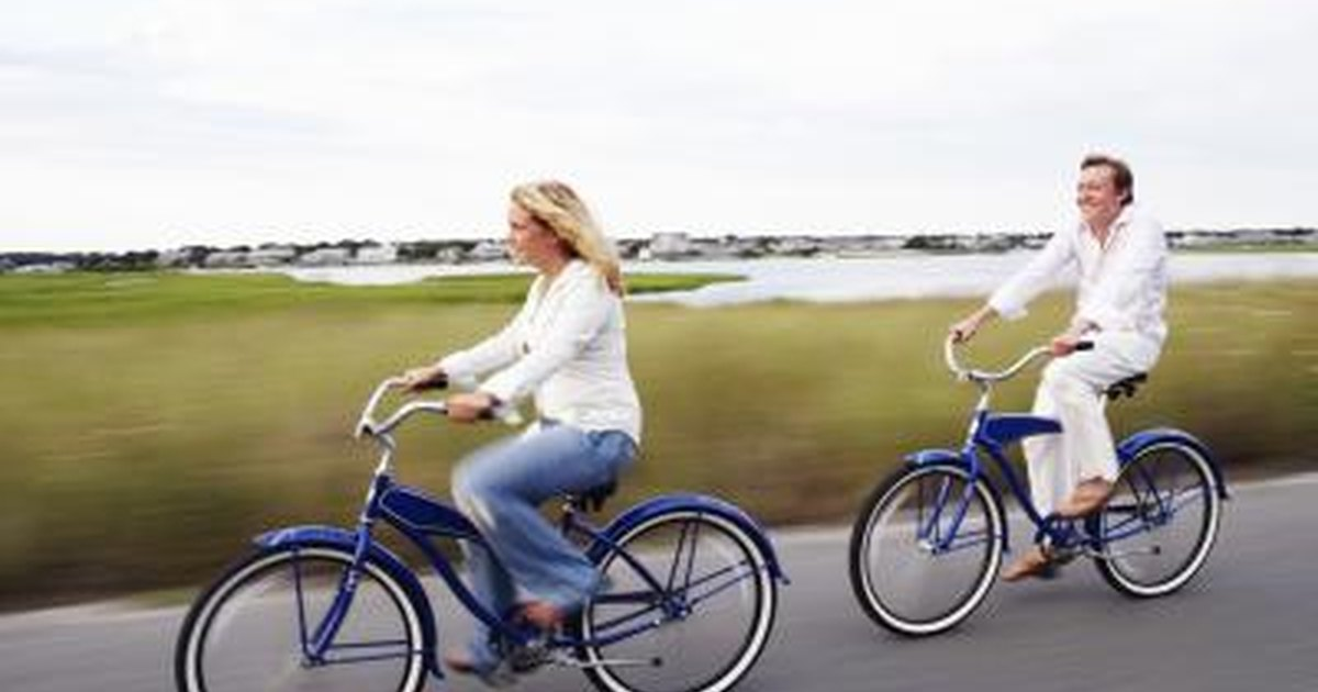 How to Ride a Bike at 50 Years Old   LIVESTRONG.COM