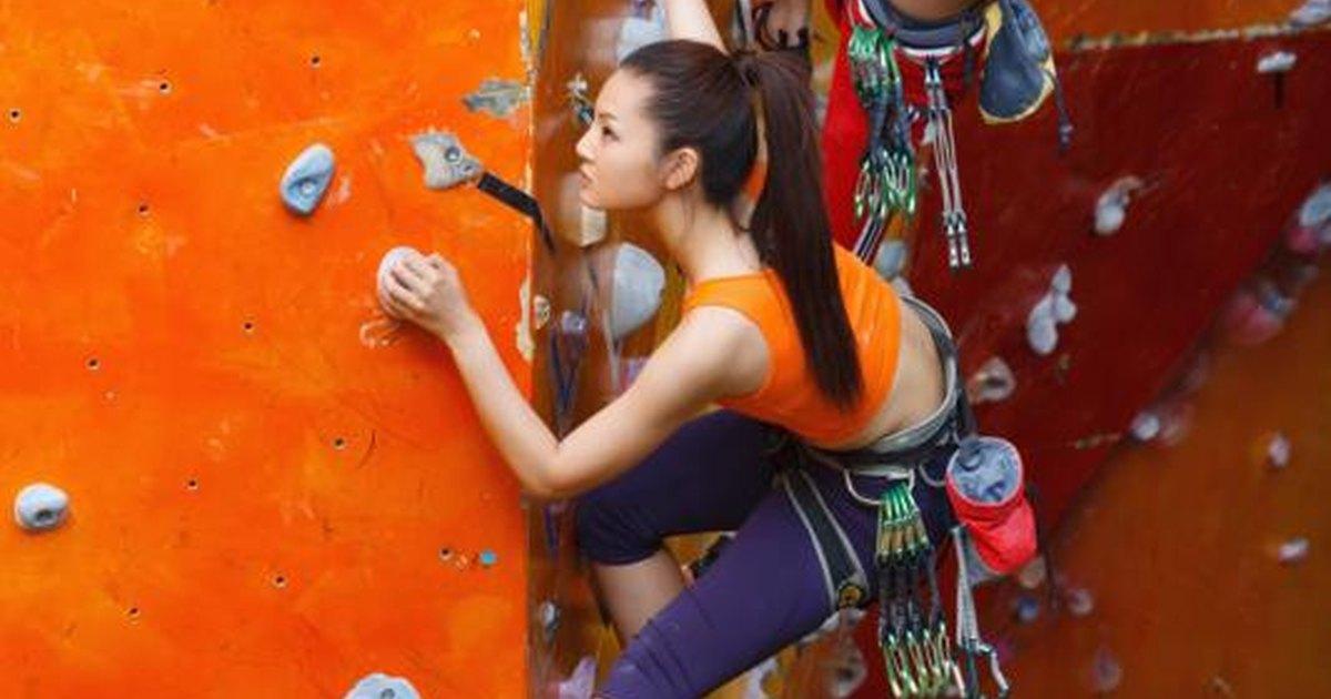 クライミングにおける体幹、上肢の筋力の動員