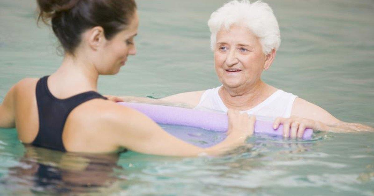 Aquatic Rotator Cuff Exercises Livestrong Com