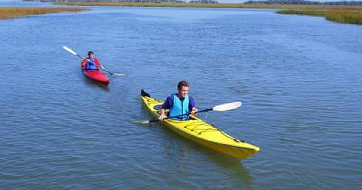 how do i train for flatwater kayak racing