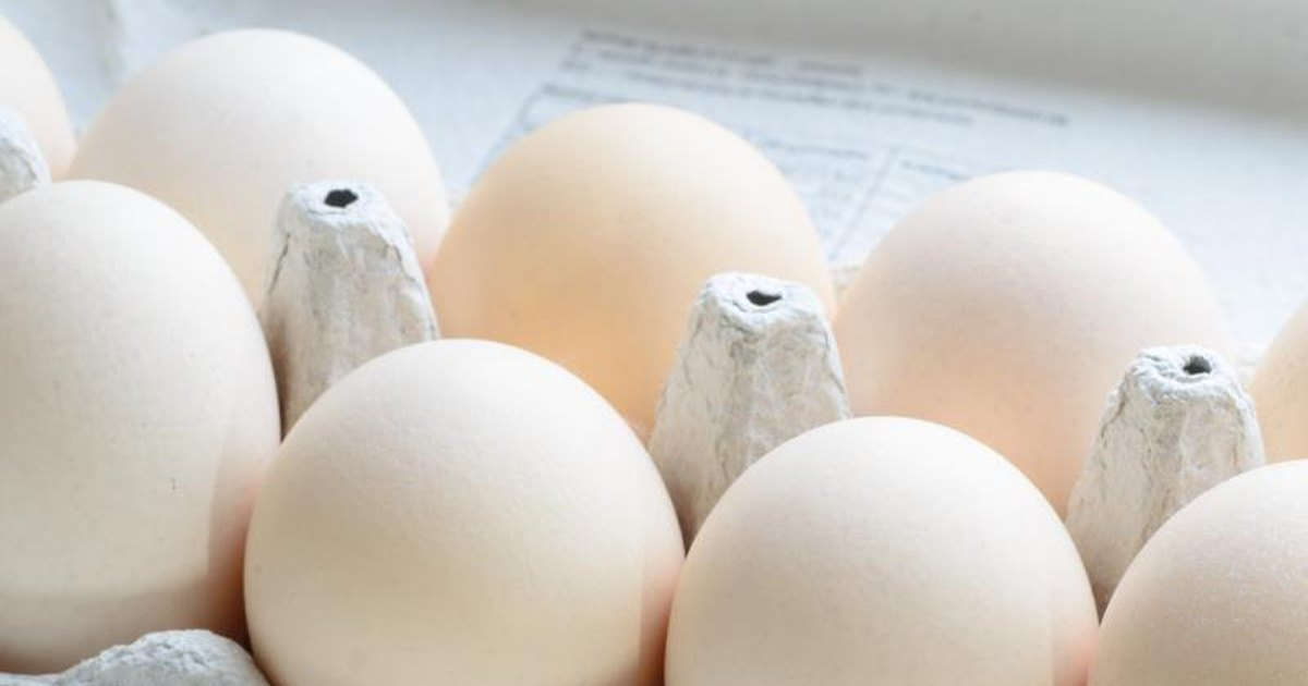 Expiration date on eggs