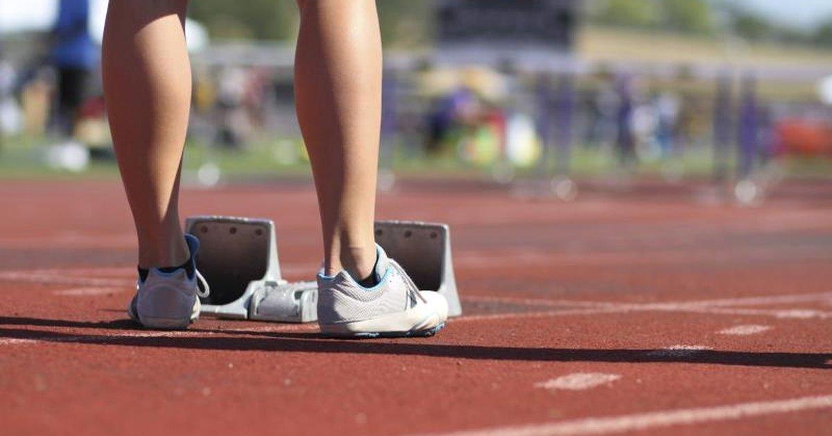 100 metre runner diet lose weight