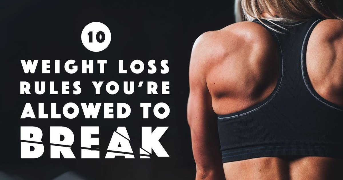 10 weight loss rules