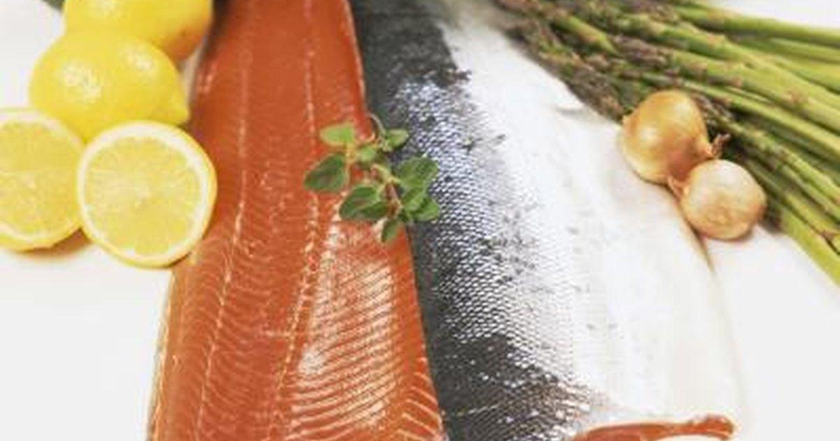 Sockeye salmon nutrition livestrong com for Salmon fish nutrition