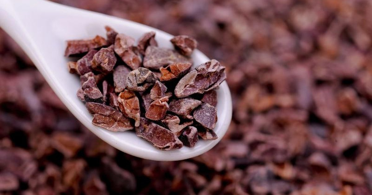 Making Hot Chocolate From Cacao Nibs
