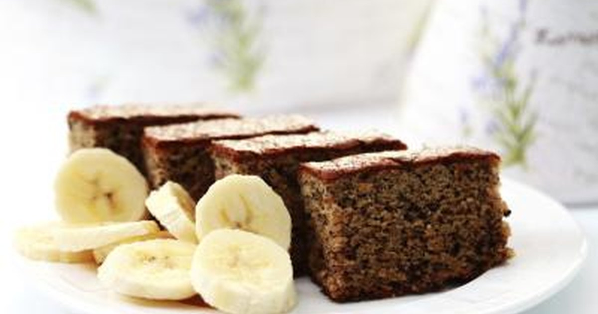 Moist Banana Cake Women