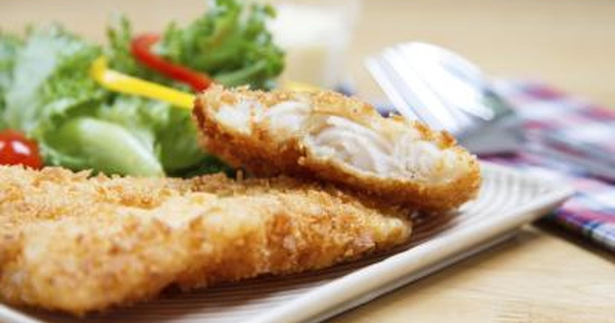 how to bread fish for frying livestrong com