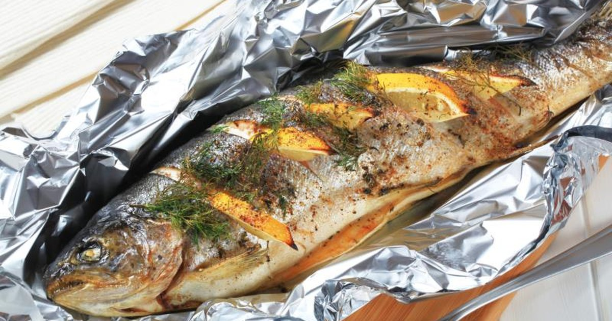 How to cook fish on the grill in aluminum foil with lemon for The fish grill