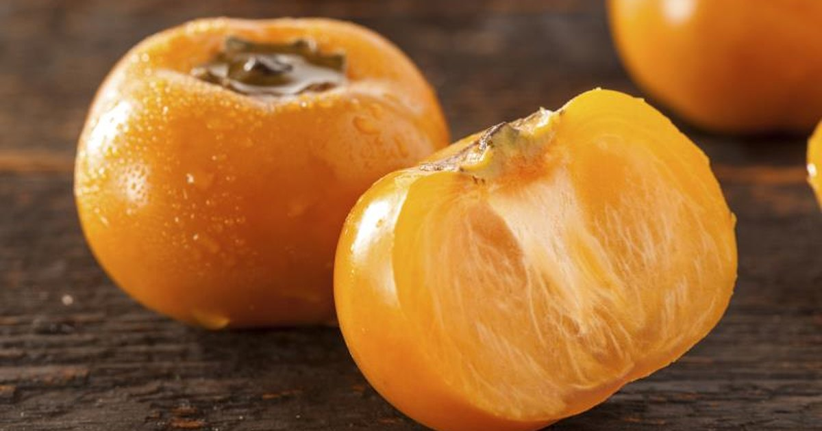 Nutritional value of persimmon fruit livestrong com for Cachi persimon