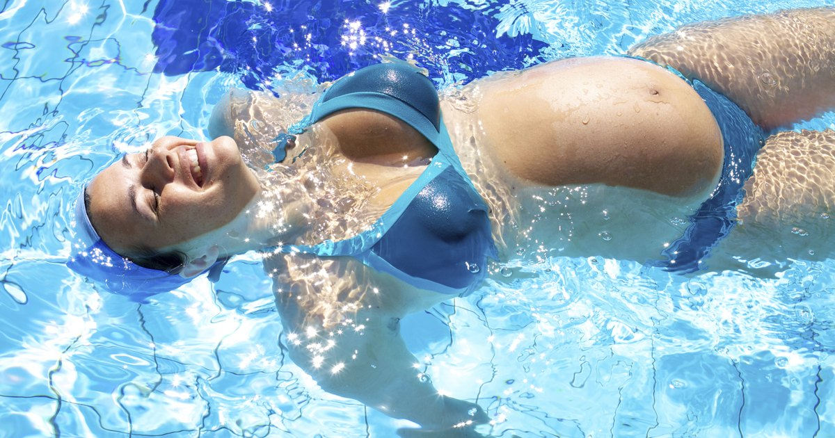 Вред плавания для беременных