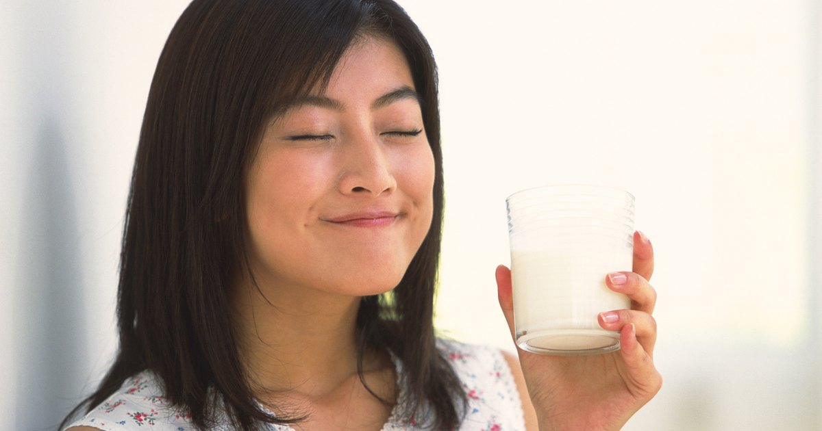 Drinking too much milk in adults