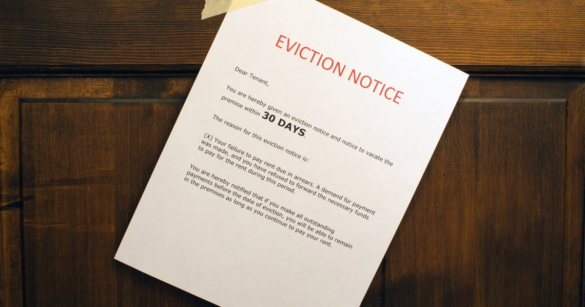 How to Evict a Family Member From a House | LIVESTRONG.COM