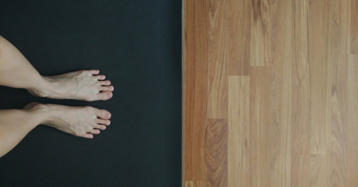 How To Keep Your Hands From Slipping On A Yoga Mat