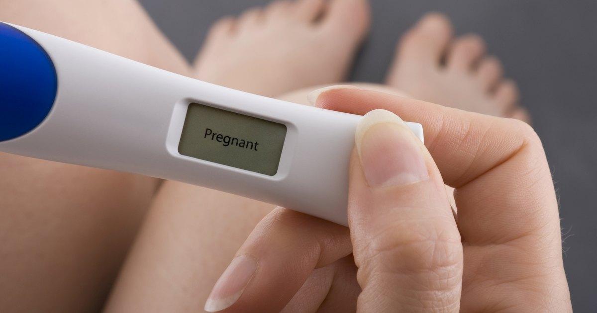 Могут ли идти менструация когда беременный