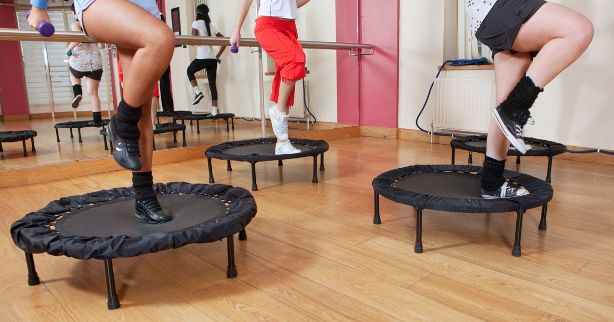which is a better mini trampoline one with or without springs livestrong com. Black Bedroom Furniture Sets. Home Design Ideas
