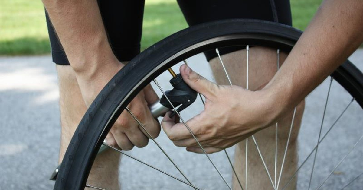 How do i pump up a bicycle tire with presta valve