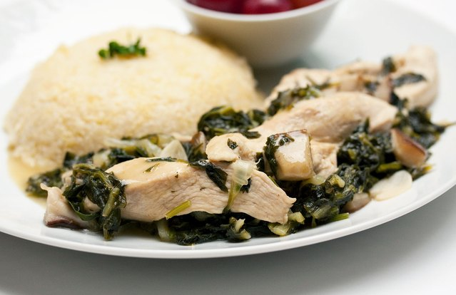 Mushroom and Parsley Chicken