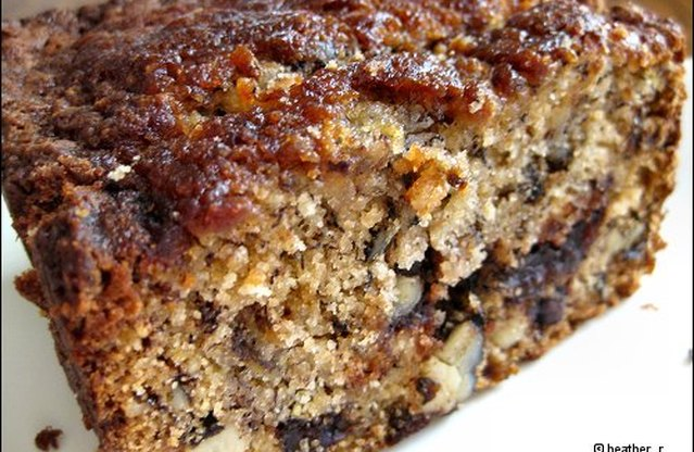 Mindy's Chocolate Chip-Walnut Banana Bread