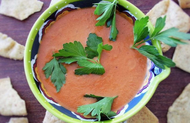 Middle Eastern-Spiced Creamy Tomato Soup