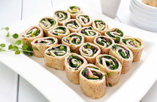 "5-Minute Italian ""Submarine"" Party Pinwheels"