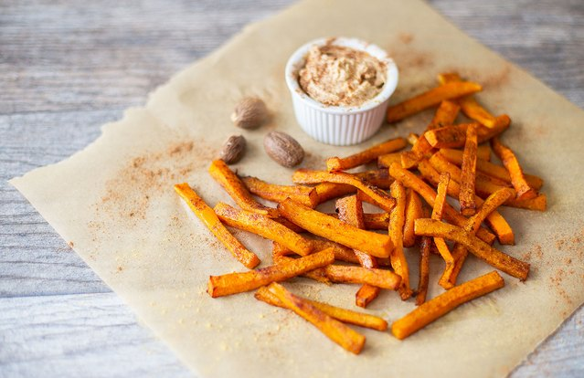Spiced Butternut Squash Fries