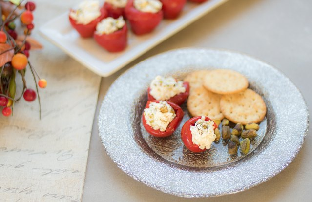 Stuffed Hot-and-Sweet Peppers