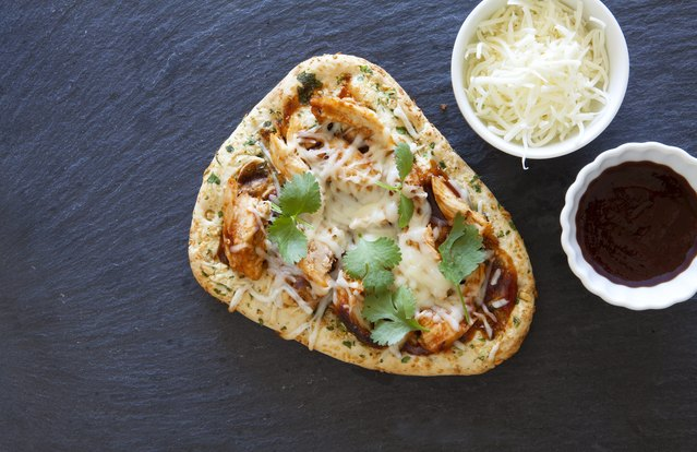 Thai Chicken Thick-Crust Pizza