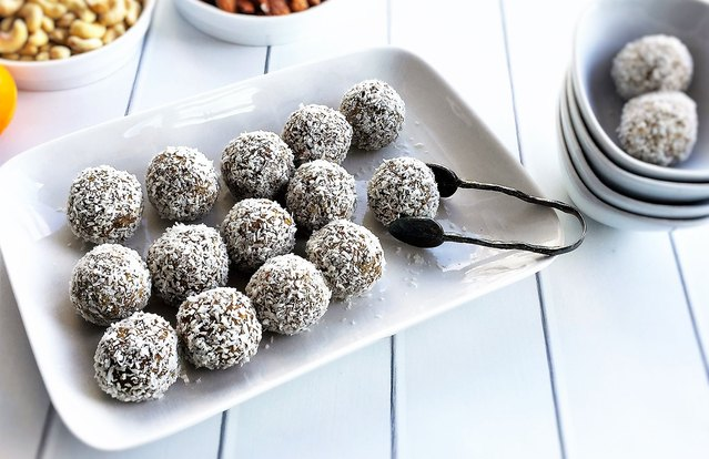 Tropical Protein Balls
