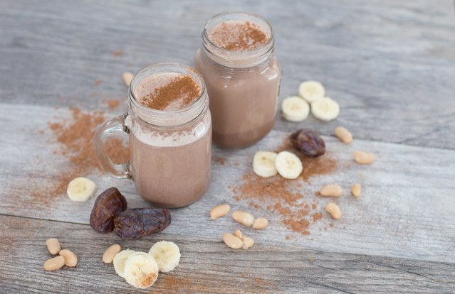 Creamy Chocolate, Cannellini Bean and Cinnamon Smoothie