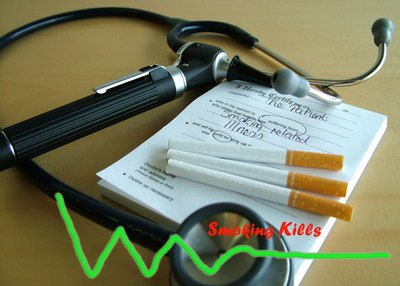 Smoking causes short- and long-term damage to the respiratory epithelium.