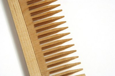 It's normal for your comb to contain some hair.