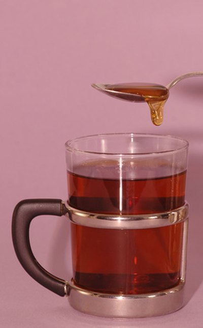 Try adding honey to your tea.