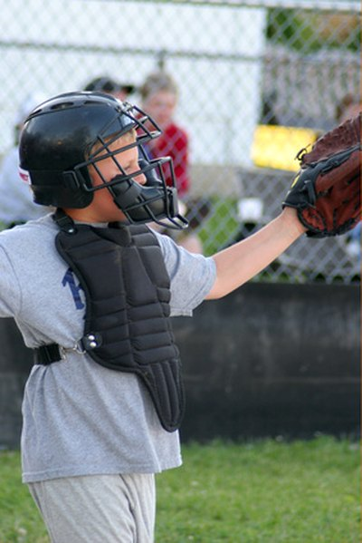 Youth Baseball Catcher Drills