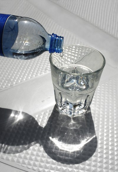 Drink six to eight glasses of water a day to keep your hair hydrated and healthy.