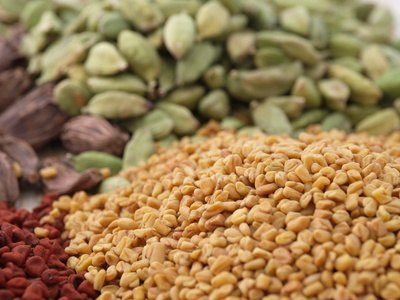 Fenugreek seeds may aid digestion.