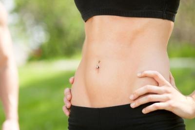 How to Get a Flat Stomach Without Going on a Diet