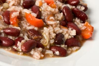 The Protein in Rice & Beans