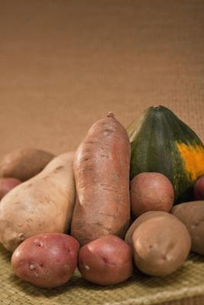 Squash Vs. Sweet Potatoes