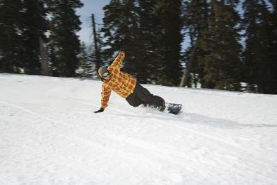 Snowboard Stance Angles for Speed Stability