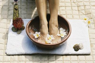 Solutions to Put in a Foot Bath
