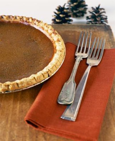 Evaporated Milk Vs. Half-and-Half in Pumpkin Pie