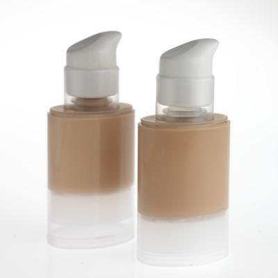 Close up of make-up bottles.