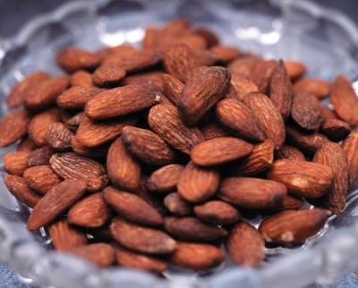 Almonds contain tyrosine.