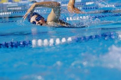 Swimming is also a good cardio exercise.
